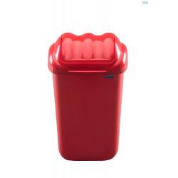 KOSZ FALA 30 litrów - czerwony