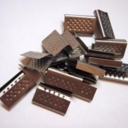 Zapinki metalowe 16mm 2500szt.