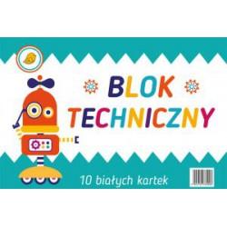 Blok techniczny A4 10 ark....