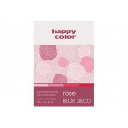 Blok Deco A4 20 ark. różowy