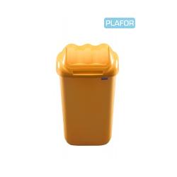 KOSZ FALA 15 litrów - żółty