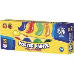 Farby plakatowe 10 kolorów...