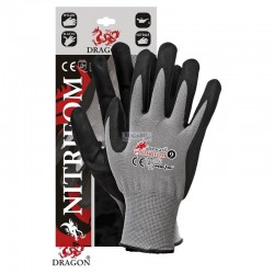 Rękawice robocze z nitrylem...