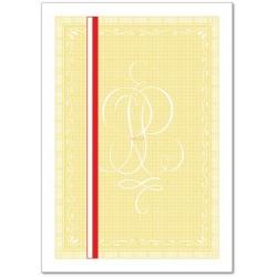 Gilosz żółty z wyróżnieniem A4